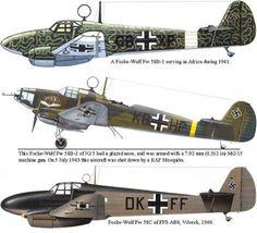 Focke Wulf FW-58B-1