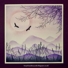 Sandma's Handmade Cards: Purple Passion