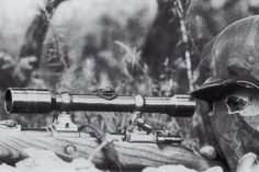 German Sniper in World War II