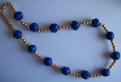 Accidentaccio: Idea per la festa della mamma: collana con perle di cartapesta