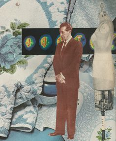 Analogue collage about a project of The Twilight Zone