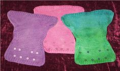 I like how these are so similar to the covers we used with the first... but they aren't PUL!   Crochet your own wool diaper covers! Easy peasy