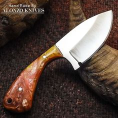 ALONZO KNIVES USA CUSTOM HANDMADE TACTICAL HUNTING 1095 KNIFE CORELON 2001 #AlonzoKnives