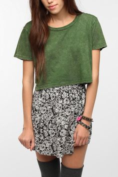 Truly Madly Deeply Super Cropped Mineralized Tee New Colors Available