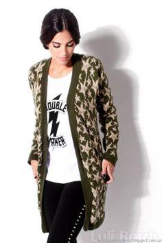 Ropa de mujer de moda, sacos tejidos Luli Reich invierno 2014.