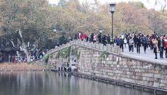 The Broken Bridge, in Hangzhou. Picture: Simon Song