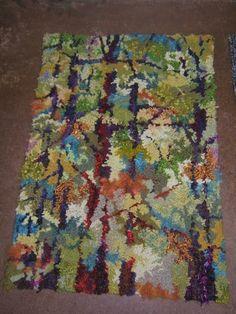 Rug Hooking Designs, Rug Hooking Patterns, Art Mat, Latch Hook Rugs, Rugs And Mats, Hand Hooked Rugs, Penny Rugs, Loom Weaving, Textiles