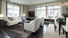A Modern Livingroom in Bishop Creek by Bluetree Homes