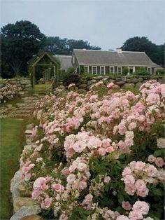Top 10 Beautiful Fairytale Homes, Rose garden fairy tale house