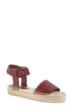 VINCE 'Edina' Espadrille Sandal (Women). #vince #shoes #sandals