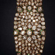 Polki bracelet. I would rather use it as a choker ;)