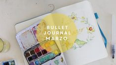 bullet journal marzo ita 2018
