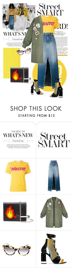 """Seoul on the Street"" by lidia-solymosi ❤ liked on Polyvore featuring Pierre Hardy, Peter Jensen, J Brand and Prada"