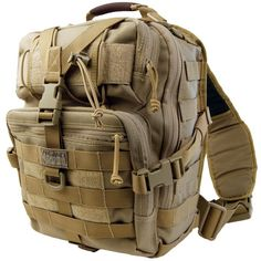 Maxpedition Malaga Gearslinger Shoulder Sling Tactical Messenger Gear Bag - MAXPEDITION HARD-USE GEAR Tactical Nylon Gear for Military, Law Enforcement, Tactical Concealed Carry; Tailored to Perform Tactical