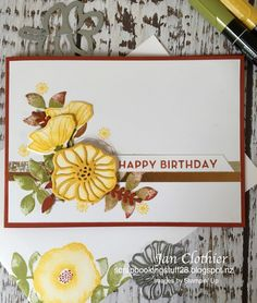 There were so many beautiful cards in last week's gallery at The Paper Players that came from Nance's versatile and pretty sketch....