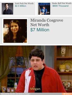 Drake and Josh/ Drake's worth -$600 thousand