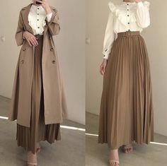 Modest Fashion Hijab, Modern Hijab Fashion, Street Hijab Fashion, Muslim Women Fashion, Modesty Fashion, Hijab Fashion Inspiration, Modest Outfits, Classy Outfits, Look Fashion