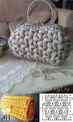andrea croche: crochet bag with wire meshAmazing Crochet handbags or Crochet handbags prices then Check out internet site simply press the bar for even more info ~Wanting a Crochet handbags on sale or handbags Crochet then Learn more at the web above Bag Crochet, Crochet Clutch, Crochet Handbags, Crochet Purses, Crochet Crafts, Crochet Stitches, Yarn Bag, Knitted Bags, Bag Patterns