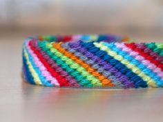 Color Pencil Box Friendship Bracelet ,Jewelry  ,Bracelet  ,Fiber  ,woven  ,macrame  ,friendship Bracelet  ,hippie  ,colorful ,native, rainbow