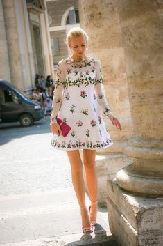 Tatiana Korsakova Visits Rome During Fashion Shows - July 10, 2015