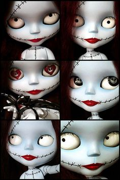 The many faces of Sally.