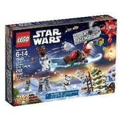 Santa & Stormtroopers for Christmas Countdown, really? ;) LEGO Star Wars Advent Calendar