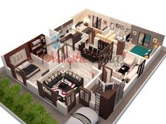 Floor Plans, House Design, House Plan, Customized Home Design, House Map 3d House Plans, House Layout Plans, Modern House Plans, House Layouts, Small House Plans, House Design 3d, Home Map Design, Home Building Design, Home Design Plans