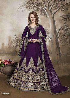 bf0ed5c3902 8 Awesome Aanaya22000 - Heavy Embroidered Floor Length Anarkali Suit ...