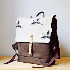 Už vás bolí záda z těžkých kabelek? Vyměňte tašku za stylový městský batoh  fler.cz/madmax #flercz #podporujemečeskéznačky #batoh #birdman #backpack #hneda #chocolate #handmade #czechmade #czechdesign #accessories