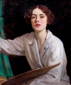 Harold Speed Portrait of Lady Diana Bridgeman. Woman Painting, Painting & Drawing, L'art Du Portrait, Art History Lessons, Renaissance Kunst, Art Uk, Classical Art, Art Installation, Rembrandt