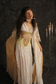 * Van Helsing Verona Vampire Bride Dress Bridal Gown Gothic Costume Prop *