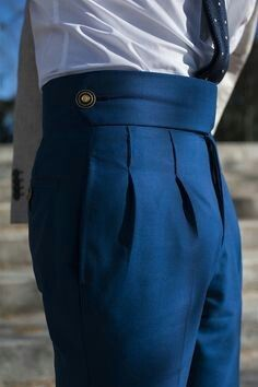 Bespoke Trouser Details