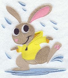 Rabbit Dancing in the Rain