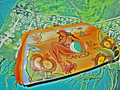 cancer crab purse