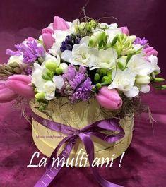 Martie, Flower Arrangements, Floral Wreath, Happy Birthday, Lily, Wreaths, Flowers, Decor, Birthday