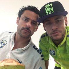 Fred e Neymar (Foto: Instagram / Reprodução)