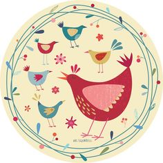 Bird Circle - Nic Squirrell