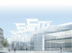 International Competition 2007 for Plaza de la Cebada, Ayuntamiento de Madrid. allende arquitectos, Finalist