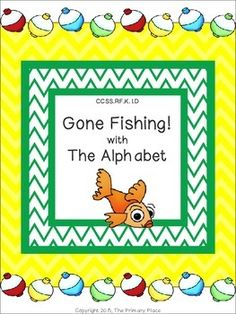 The Gone Fishing with the Alphabet Center Game created by The Primary Place is ideal for Pre-K - 1st grade. There are 12 pages in this PDF file. You can make this a center or create enough for the class to do this activity at the same time in small groups.