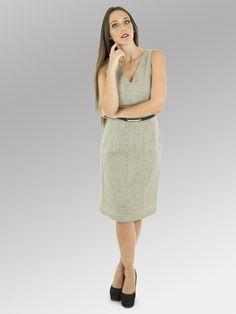 Vestido Melbourne #moda #lino #FW2014 www.abito.com.mx