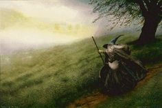 Gandalf - Illustrazioni da antichi libri