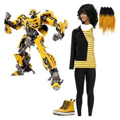"""""""Bumblebee"""" by batgirl-at-the-walking-dead3 ❤ liked on Polyvore featuring Dr. Martens"""