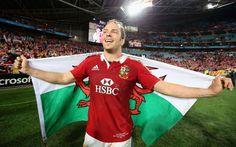 Alun Wyn Jones Welsh Rugby Players, Rugby Images, British And Irish Lions, Wales Rugby, International Rugby, Cymru, Choir, Looking Back, Gentleman