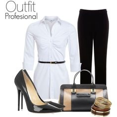 """""""Outfit Profesional"""" by walesk-msn on Polyvore"""