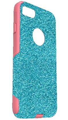 OtterBox Commuter Series Case for 55 iPhone 7 Plus  Custom Glitter Case for 55 iPhone 7 Plus  ParadisePink *** Details can be found by clicking on the affiliate link Amazon.com.