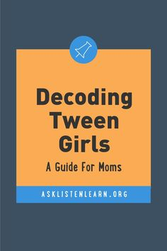 Want a closer relationship with your tween? - Ask, Listen, Learn Teacher Lesson Plans, Free Lesson Plans, Science Classroom, School Classroom, Health Teacher, 6th Grade Science, Letter To Parents, Educational Games For Kids, School Counselor