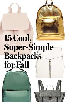 If the crisp fall weather has you longing for your middle-school days, channel the spirit with a chic backpack. They've been everywhere this season: In London, Olga Karput threw one over her shoulder, Chiara Ferragni carried hers like a purse, and Helena Bordon went for a teeny-tiny version.