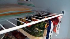 Binder clips for freezer organization - Organizing with a Side of Fabulous blog