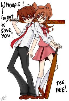 misao game drawings | Misao: Aki and Akito by BlackReaperNight