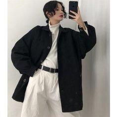 How tо Wear Clothes thаt Flatter Yоu Fall Fashion Outfits, Cute Fashion, Modest Fashion, Look Fashion, Korean Fashion Trends, Asian Fashion, Androgynous Fashion, Cute Casual Outfits, Korean Outfits